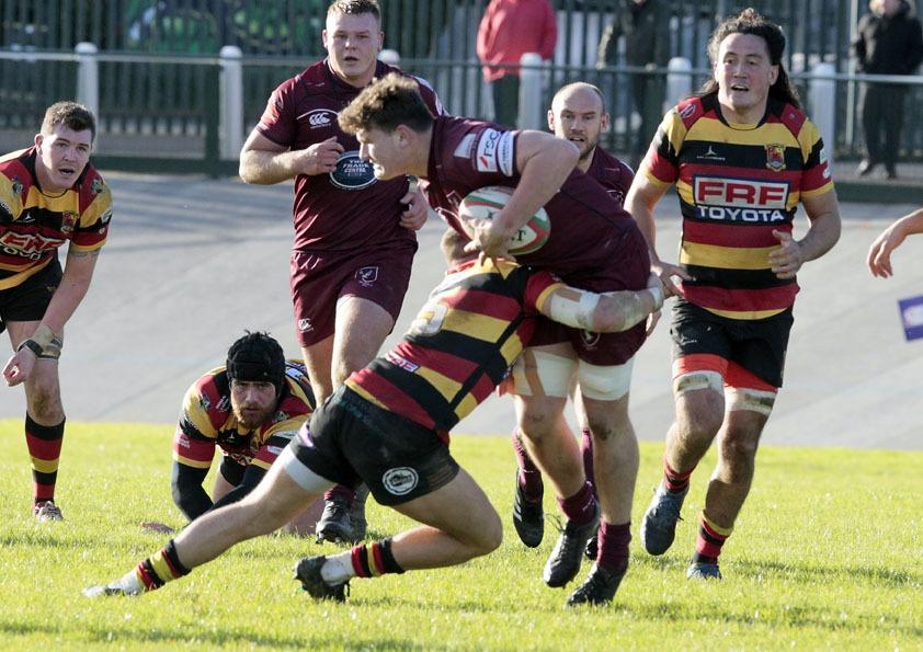 19-10-26 Carmarthen Quins v Swansea