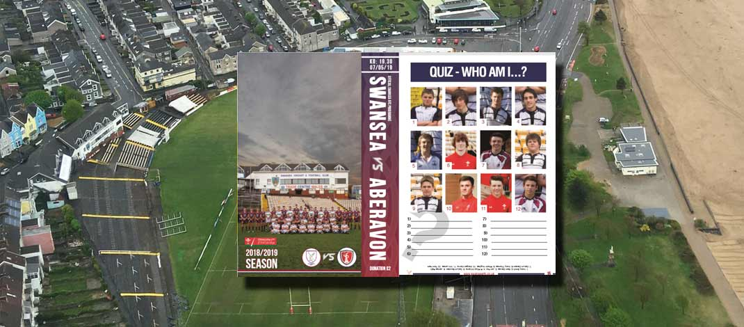Who are the faces in the Whites' programme?