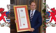 Alun Wyn Jones honoured by City