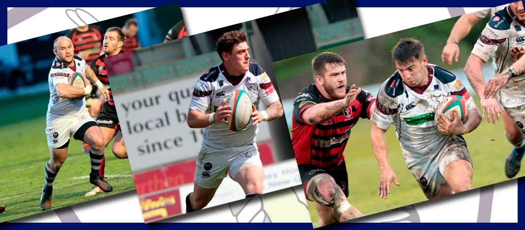 Three more backs re-sign for Whites