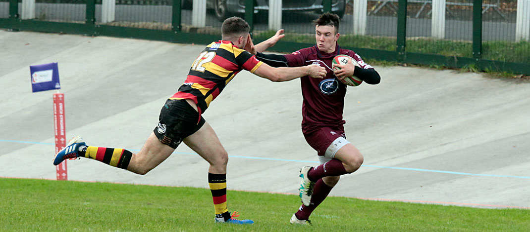 Carmarthen Quins 21 Swansea 12