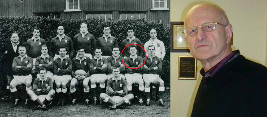 Former Wales centre passes on