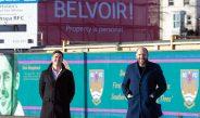 Swansea RFC Sign Belvoir Sales & Lettings